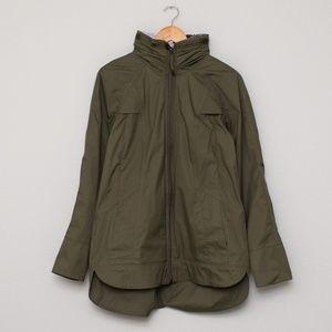 Lululemon Fo Drizzle Rain Coat - Fatique